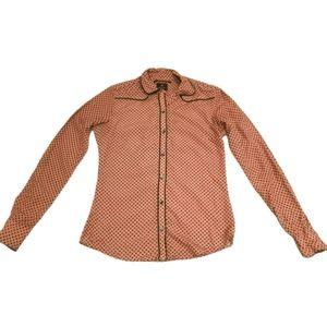 🍀3/$30 Maison Scotch Chapeau button down shirt